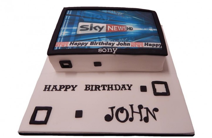 TV Cake