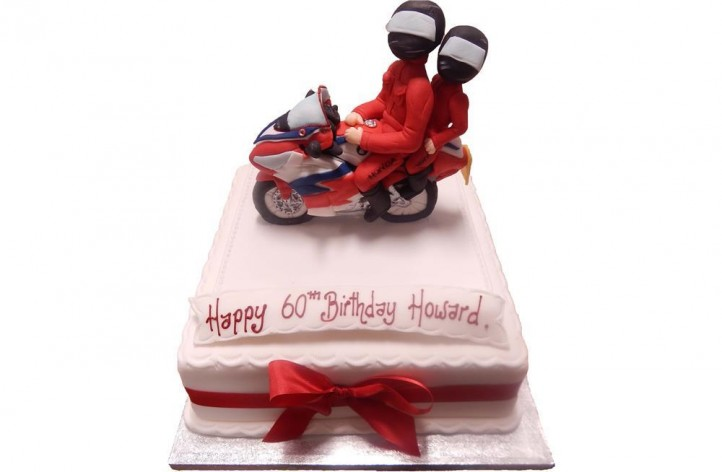 Two Bikers Cake