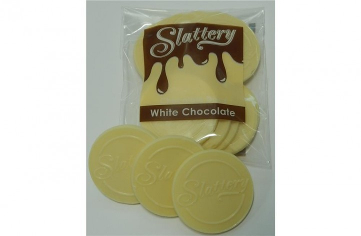 White Chocolate Discs