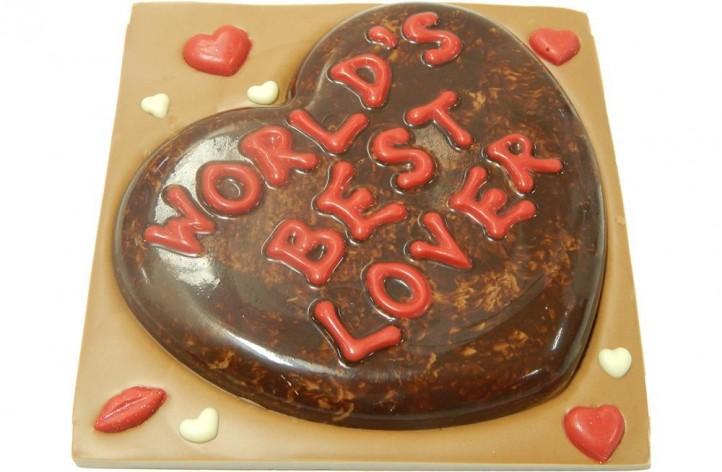 Worlds Best Lover Chocolate Bar