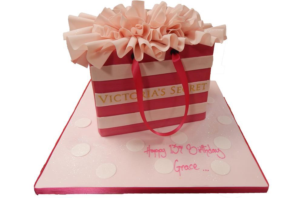 Victoria Secrets Birthday Cake