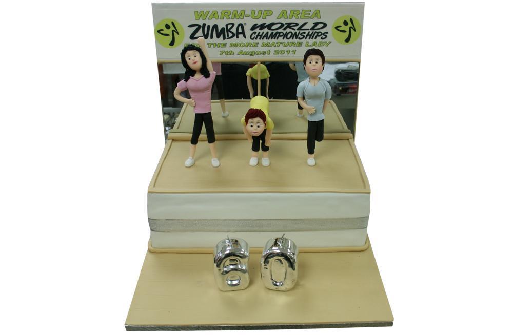 Zumba workout for Sideboard zumba